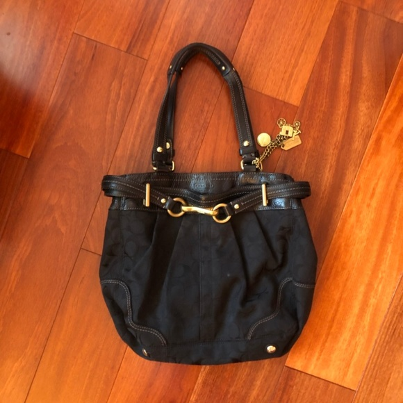 Coach Handbags - COACH - Black shoulder bag